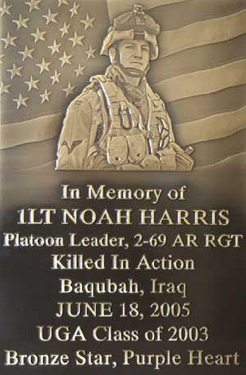 bronze military plaques with bubble top custom shape